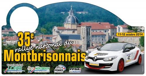 35ème Rallye National du Montbrisonnais 2014