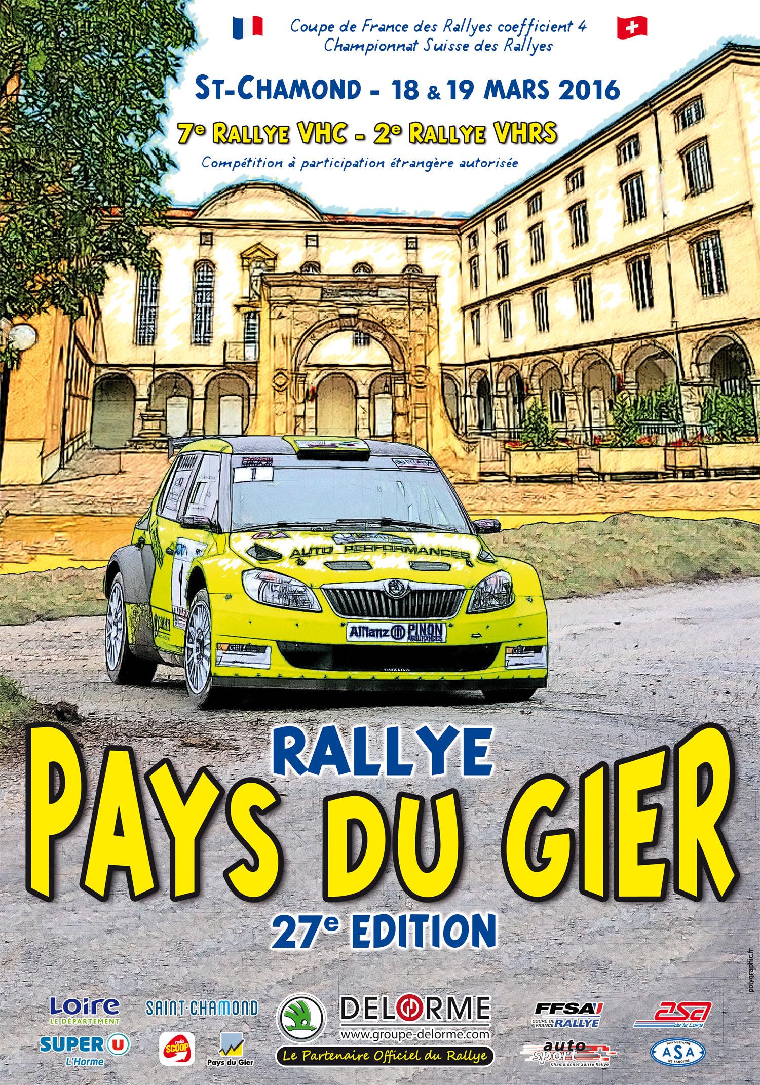 27ème Rallye Pays du Gier 2016